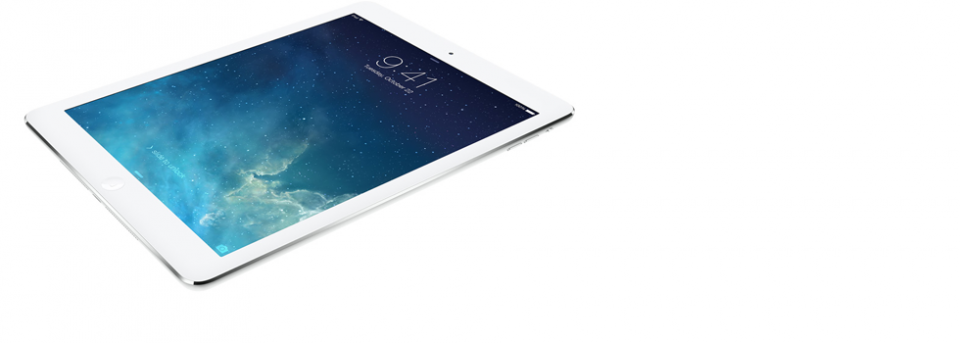 Slide iPad Air